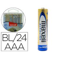 PILES ALCALINES AAA/LR03 POWER PACK DE 24