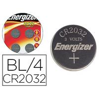 ENERGIZER PILES BOUTON CR2032 PACK DE 4