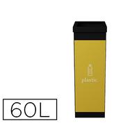 POUBELLE 60L TRI SÉLECTIF PLASTIQUE