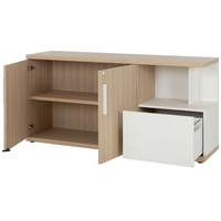 GAUTIER OFFICE BRABANT CHENE NATUREL CREDENCE 1S20270-5
