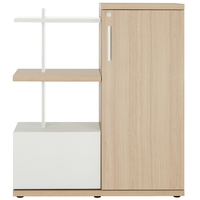 GAUTIER OFFICE BRABANT CHENE NATUREL MEUBLE COMPACT 1S20210-2