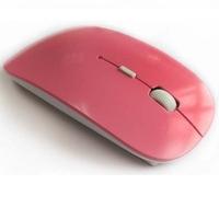 OFFRE SPECIALE Souris sans fil optique infrarouge ultra mince - ROSE
