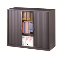 Corps anthracite - Rideaux anthracite - ARMOIRE BASSE