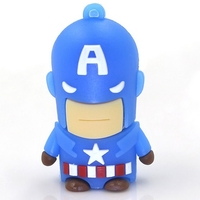 CAPTAIN AMERICA CLÉ USB 8Gb