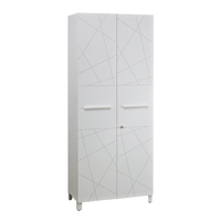 SUNDAY GRAPHIC ARMOIRE 2 PORTES SANS TOP