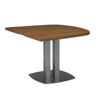 SLIVER NOYER TABLE ½ OVALE