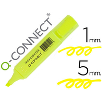 Q-CONNECT HIGHLIGHTER JAUNE
