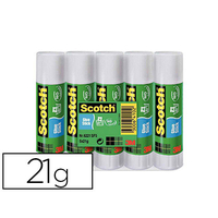 SCOTCH OFFICE BÂTON 21g LOT DE 5