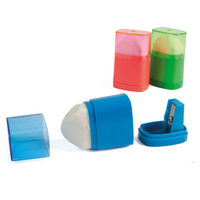 LIDERPAPEL TAILLE-CRAYONS RÉSERVE + GOMME