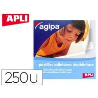 AGIPA ADHÉSIVES BOITE DE 250 PASTILLES