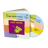 LES VENTS LIVRE-CD IMAGIER PHOTO MUSICAL