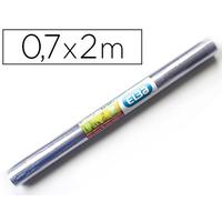 COUVRE-LIVRES PVC 0.7x2M INCOLORE