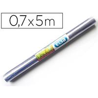 COUVRE-LIVRES PVC 0.7x5M INCOLORE