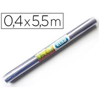 COUVRE-LIVRES PVC 0.4x5.5M INCOLORE