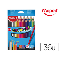CRAYONS COLOR'PEPS PACK DE 36