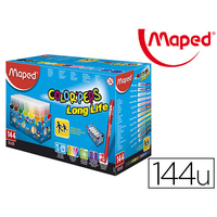 MAPED COLOR' PEPS 144 FEUTRES POINTES MOYENNES