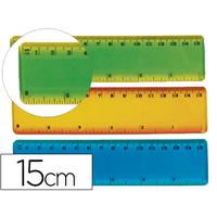 LIDERPAPEL RÈGLE FLEXIBLE 15cm