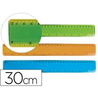 LIDERPAPEL RÈGLE FLEXIBLE 30cm