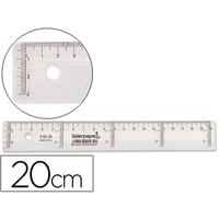 LIDERPAPEL ÉCO RÈGLE 20cm