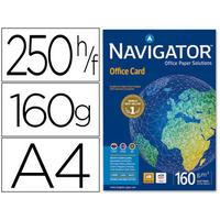 NAVIGATOR OFFICE CARD A4 160G RAMETTE DE 250 FEUILLES