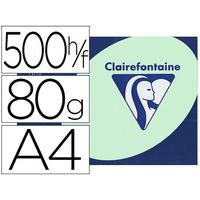 CLAIREFONTAINE TROPHÉE VERT PASTEL A4 80G