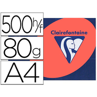 CLAIREFONTAINE TROPHÉE ROUGE CARDINAL A4 80G