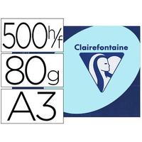 CLAIREFONTAINE TROPHÉE BLEU PASTEL A3 80G