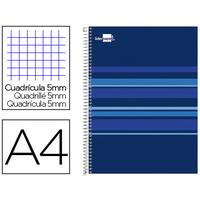 LIDERPAPEL CLASSIC BLEU A4 5x5