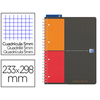MANAGERBOOK 23.3X29.8CM 160 PAGES PETITS CARREAUX