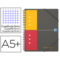 MEETINGBOOK A5+ 160 PAGES PETITS CARREAUX