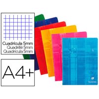 CLAIREFONTAINE 24x32cm 5x5 96 PAGES