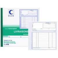 ELVE MANIFOLD LIVRAISONS 50 TRIPLIS 210x210mm