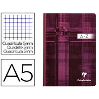 CLAIREFONTAINE RÉPERTOIRE 14,8x21cm 5x5 192 PAGES