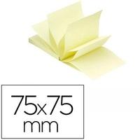 Z-NOTES JAUNE CLAIR 76x76mm