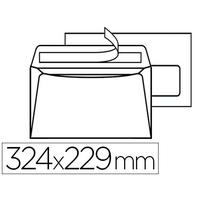 500 ENVELOPPES C4 90g AVEC FENÊTRE 50x100mm