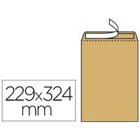 250 POCHETTES KRAFT C4 FENÊTRE 50x100mm