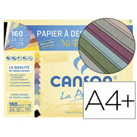 CANSON MI-TEINTES PASTEL 12 FEUILLES A4+ 160g