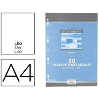 CONQUERANT A4 PERFORÉS PACK DE 50 FEUILLETS A DESSIN