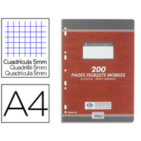 CONQUERANT A4 PERFORÉS PACK DE 200 COPIES DOUBLES