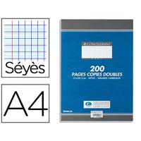 CONQUERANT A4 NON PERFORÉS PACK DE 200 COPIES DOUBLES