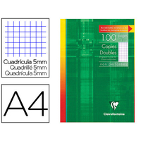 CLAIREFONTAINE A4 NON PERFORÉS PACK DE 100 COPIES DOUBLES