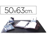 SOUS-MAINS PVC NOIR 50X63cm