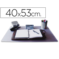 SOUS-MAINS PVC TRANSPARENT 40X53cm