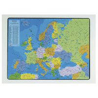 SOUS-MAINS PVC CARTE DE L'EUROPE 40x63.5cm