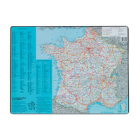 SOUS-MAINS PVC CARTE DE FRANCE 40x63.5cm