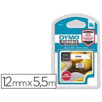 DYMO D1 NOIR/BLANC 12mmx5,5m