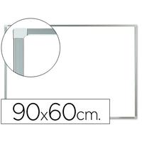 Q-CONNECT BLANC LAQUÉ ALU MAGNÉTIQUE 90x60cm