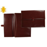 PORTE-DOCUMENTS MARRON CUIR