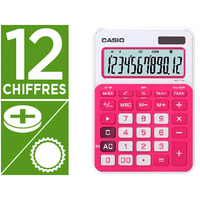 CASIO MS-20NC ROUGE 12 CHIFFRES