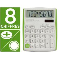 CITIZEN CDC-80 VERT/BLANC 8 CHIFFRES